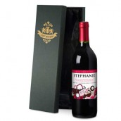 Personalised Mother's Day Accessories Red Wine