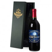 Personalised Santa Red Wine