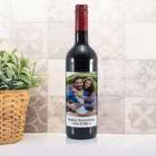 Photo Upload Bottle Of Red Wine